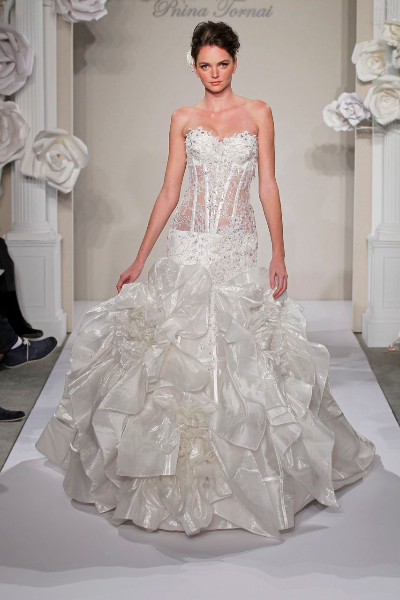Mermaid Wedding Dresses Ottawa : Canada says yes to the kleinfeld dress ottawa wedding