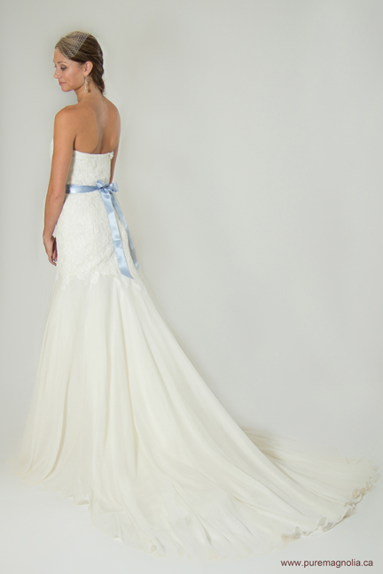 Mermaid Wedding Dresses Ottawa : Eco couture gowns featured at luxe bridal boutique trunk