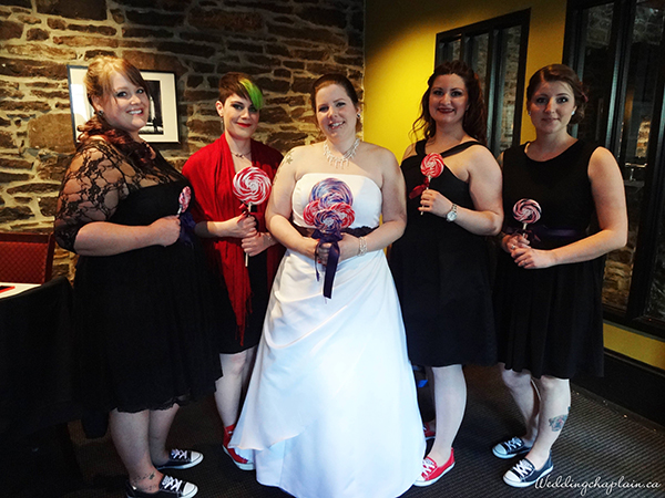 Unity Ice Cream Sundae Ritual Bride and Maids