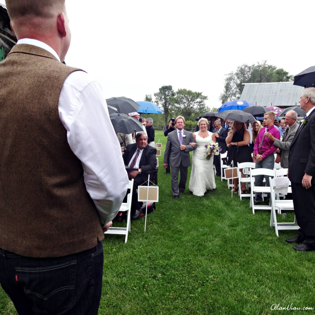 Unavoidable Wet Wedding