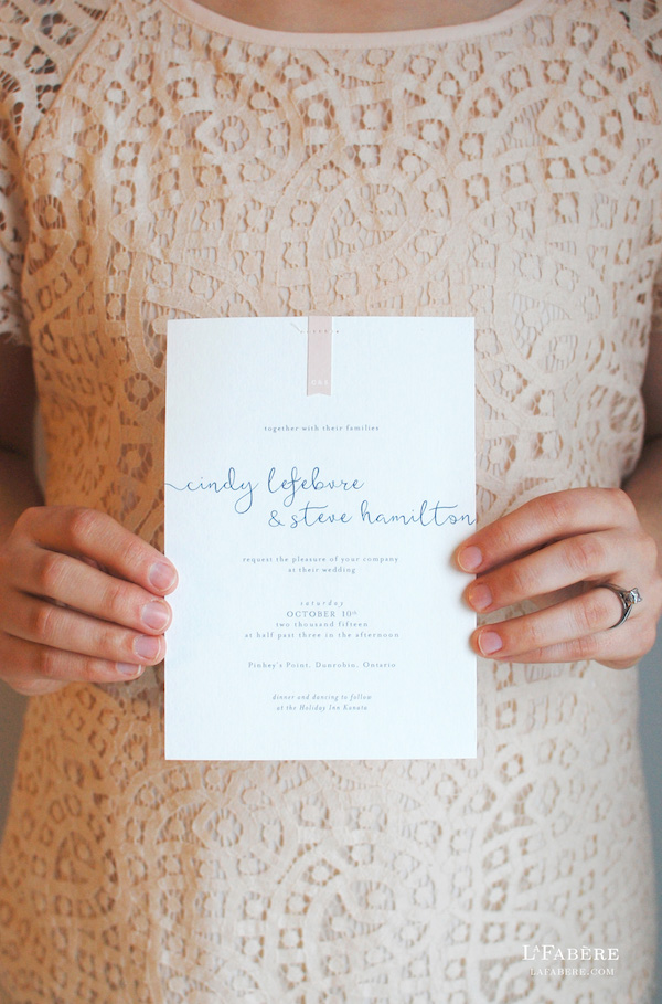 The Fine Art of Wedding Invitations - Ottawa Wedding Magazine