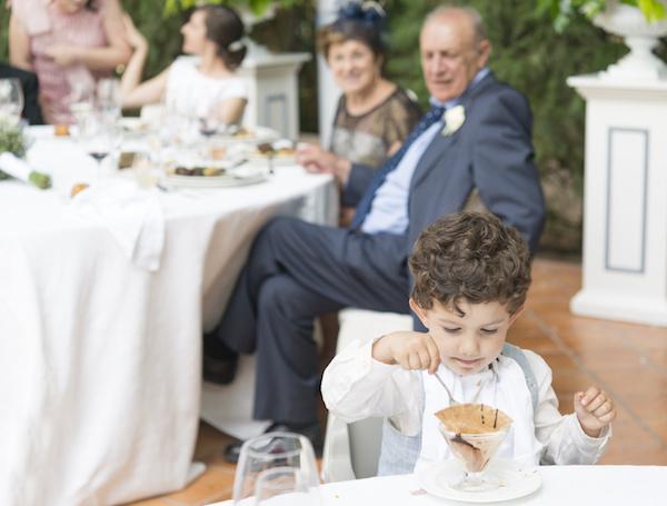 kids-free wedding