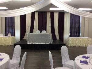 wedding hall upside down